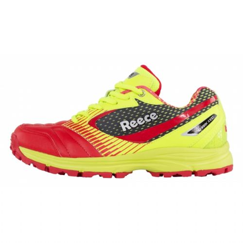 Reece Shark Yellow/Red Hockey Shoe Senior